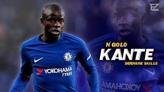 N'Golo Kante 2018 ▬ World Class • Crazy Tackles & Defensive Skills || HD