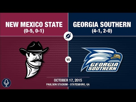2015 Week 7 - New Mexico State at Georgia Southern (GS Radio)