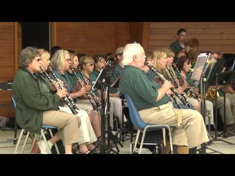 ONTV: Concerts In the Park 2016 -  North Oakland Concert Band