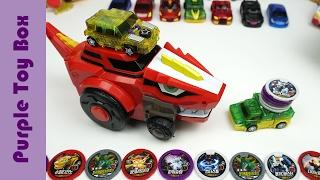 다이노코어 rc카 장난감 울트라 디버스터 샤벨 스테고 티라노 변신놀이 dinosaur robot toys