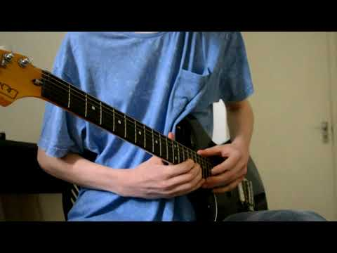 Complex Guitar Tapping Riff | Flicker Rate (Clip)