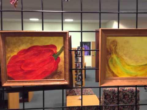 Hispanic Heritage Month Art Show. Artists OJEDA & LANDAETA