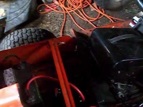 simplicity 4211 wiring diagram 2005 chevy silverado 2500hd radio tractor part 14 put the solenoid circut breaker it won t start