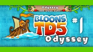 Bloons TD 5 Odyssey Mode Hard - Ep.1