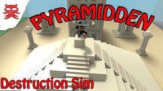The pyramid-Destruction Sim Danish Roblox