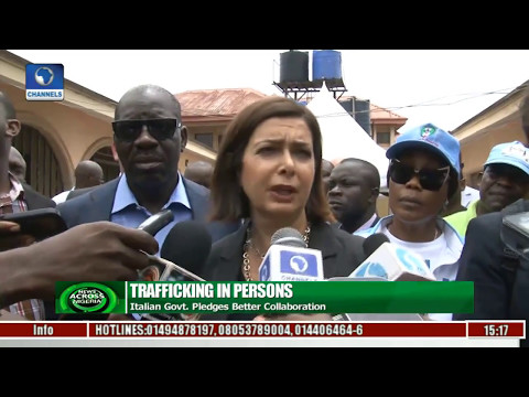 Trafficking In Persons: Italian Govt Pledges Better Collaboration With Edo Govt