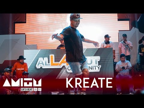 Bboy Kreate (INA) | Judge Showcase | Eat D Beat AMITY 2017 Bandung, Indonesia