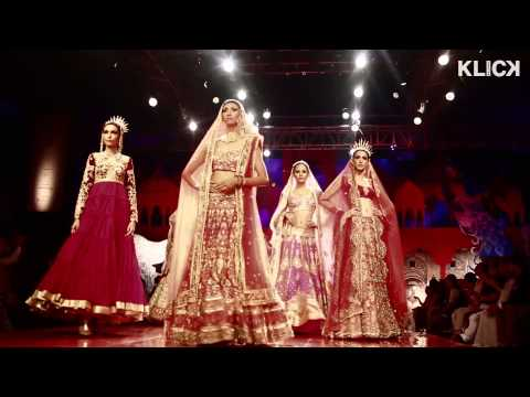 Suneet Varma show India Bridal Fashion Week 2014