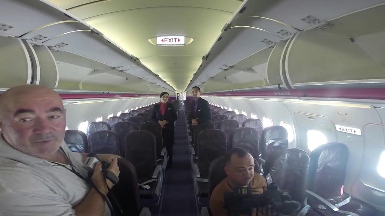 Interior Ha Lpu Wizz Air Youtube