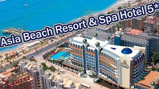 Отели Турции Asia Beach Resort Spa Hotel 5 Аланья
