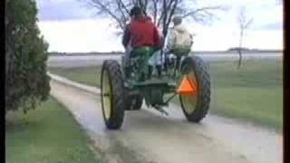 Pedal-powered Tractor