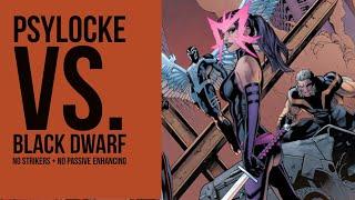 Psylocke Vs. WBU Level 11 with No Strikers + No Phil/Shuri/Valk - Marvel Future Fight