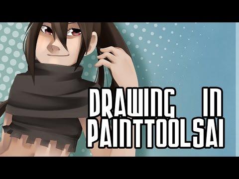 Rook Original Character || Paint Tool SAI