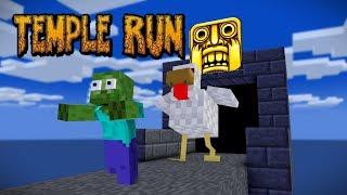 Monster School  Temple Run Challenge