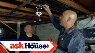 All About Lights   How to Switch Basement Lighting