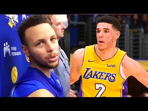 """Stephen Curry Says Lonzo Ball Is 'Great Talent & Shouldn't Change Jumpshot"""""""