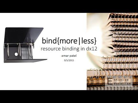 Resource Binding in DirectX 12 (pt.3)