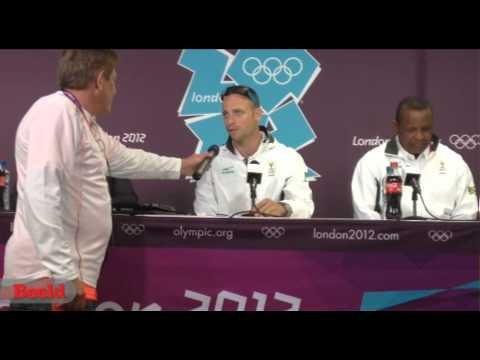 Oscar Pistorius gesels oor sy Olimpiese vooruitsigte