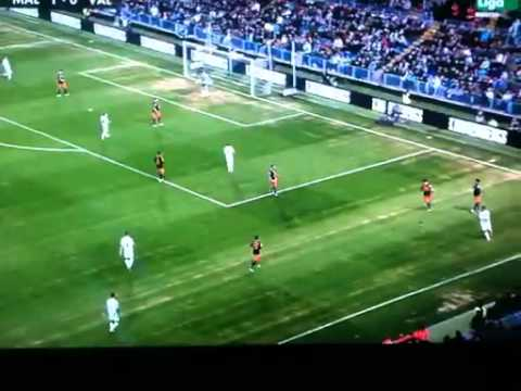 MALAGA ,Jugadón de Isco vs Valencia