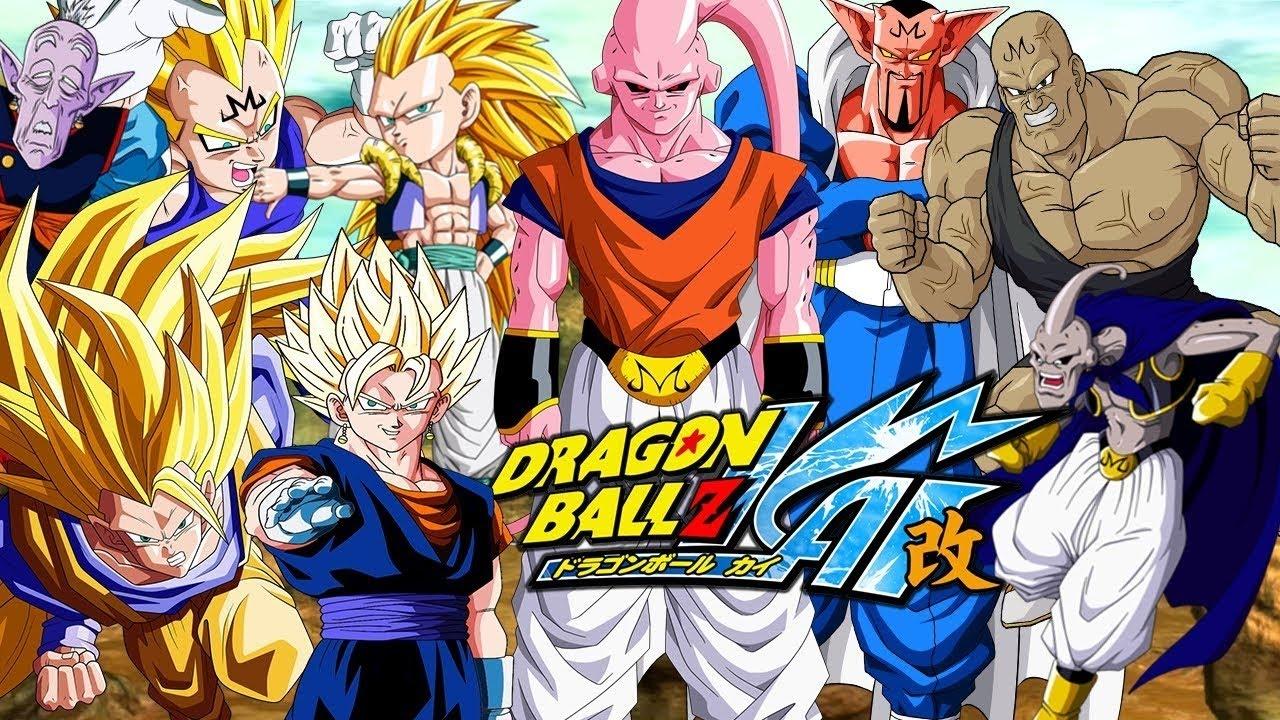 Anime que você viu na tv globinho dragon ball z saga majin buu