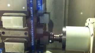 High Speed Machining 700 I.P.M.  Mazak HCN-4000 II