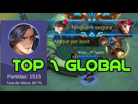 TOP GLOBAL GUSION GAMEPLAY+ BUILD COMPLETA!