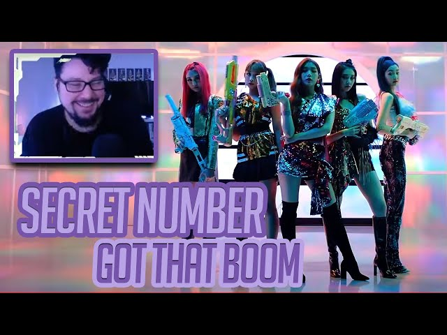 Mikey Reacts to SECRET NUMBER(시크릿넘버) _ Got That Boom