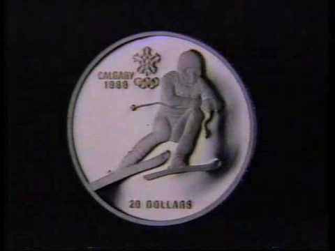 1987-Canada - Royal Bank - Calgary Olympics Coins