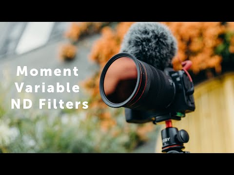 Moment launches its own variable ND filters for DSLRs and drones