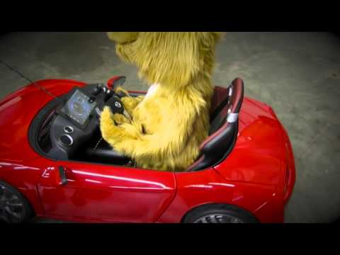 Charlie's car- Driving and talking dog, animatronic puppet