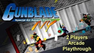 Gunblade NY Arcade Game - Full Playthrough (Sega Arcade Classic) - 1080p 60FPS