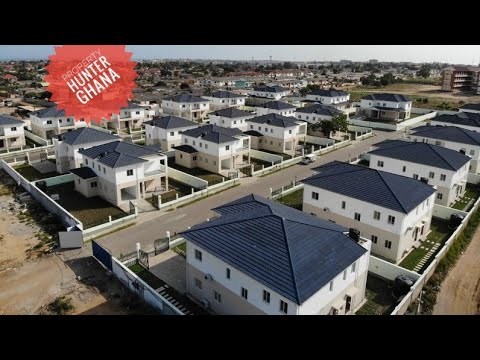 Gated Estate Houses in Lashiebi, Accra for Sale