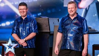 Organ duo Tony and Andrew try to raise the roof | Audition Week 1 | Britain's Got Talent 2015