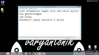 Video CMD NASIL AÇILIR?-DERS 1 download MP3, 3GP, MP4, WEBM, AVI, FLV April 2018