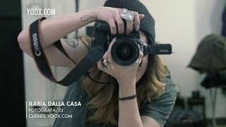 ► Ed è subito mio - SPOT con ILARIA DALLA CASA, Fotografa/DJ e Cliente | by yoox.com