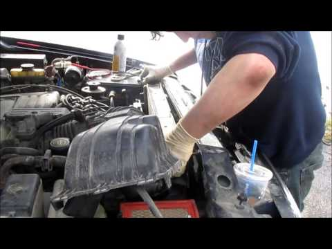 DIY: Ford Explorer Radiator Replacement - YouTube