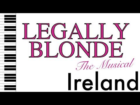 Ireland - Legally Blonde - Piano Accompaniment/Rehearsal Track