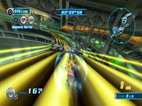 Sonic Riders Zero Gravity - Crimson Crater(Super Sonic)