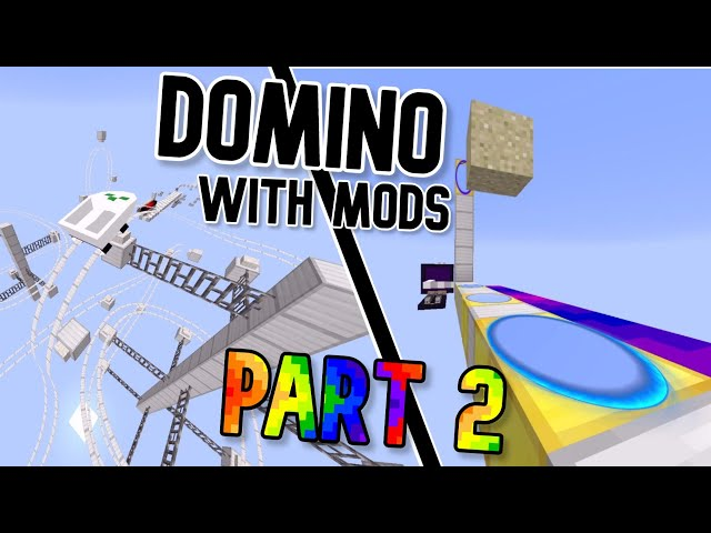 Domino in Minecraft But With Mods - Part 2