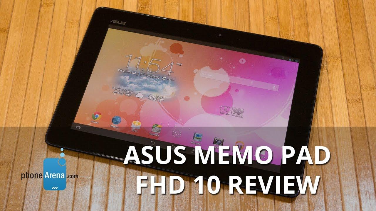 Asus MeMO Pad FHD 10 Video clips - PhoneArena