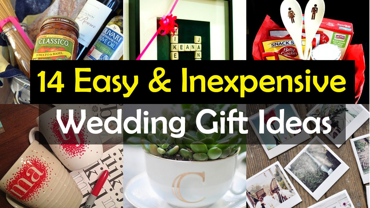 14 awesome wedding gift ideas youtube