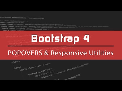 Bootstrap 4 Tutorial #9 - Elemente am Handy, Tablet oder Desktop ausblenden (Deutsch)