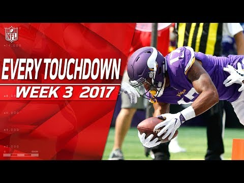 Every Touchdown from Week 3 | 2017 NFL Highlights
