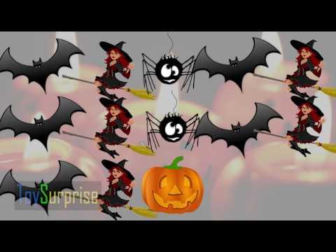 Хэллоуин для детей мультфильмы Изучение моделей для детей на английском языке с картинками Хэллоуин