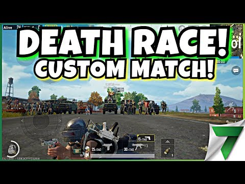Custom Matches Death Race Mahaan Pubg Mobile Youtube
