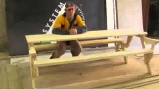 Мебель для дачи (СТОЛ-ТРАНСФОРМЕР) - zaNOza.com.ua(Стол-скамейка-трансформер из натурального дерева -- это наилучшая и практичная мебель для отдыха в загород..., 2013-03-29T08:13:33.000Z)