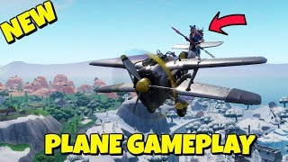 HOW TO FLY PLANES IN FORTNITE SEASON 7 *GAMEPLAY