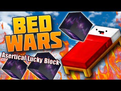 MINI GAME : ASERTICAL LUCKY BLOCK BEDWARS ** THỬ THÁCH CHIẾN THẮNG CÙNG NOOB TEAM TRONG BEDWARS