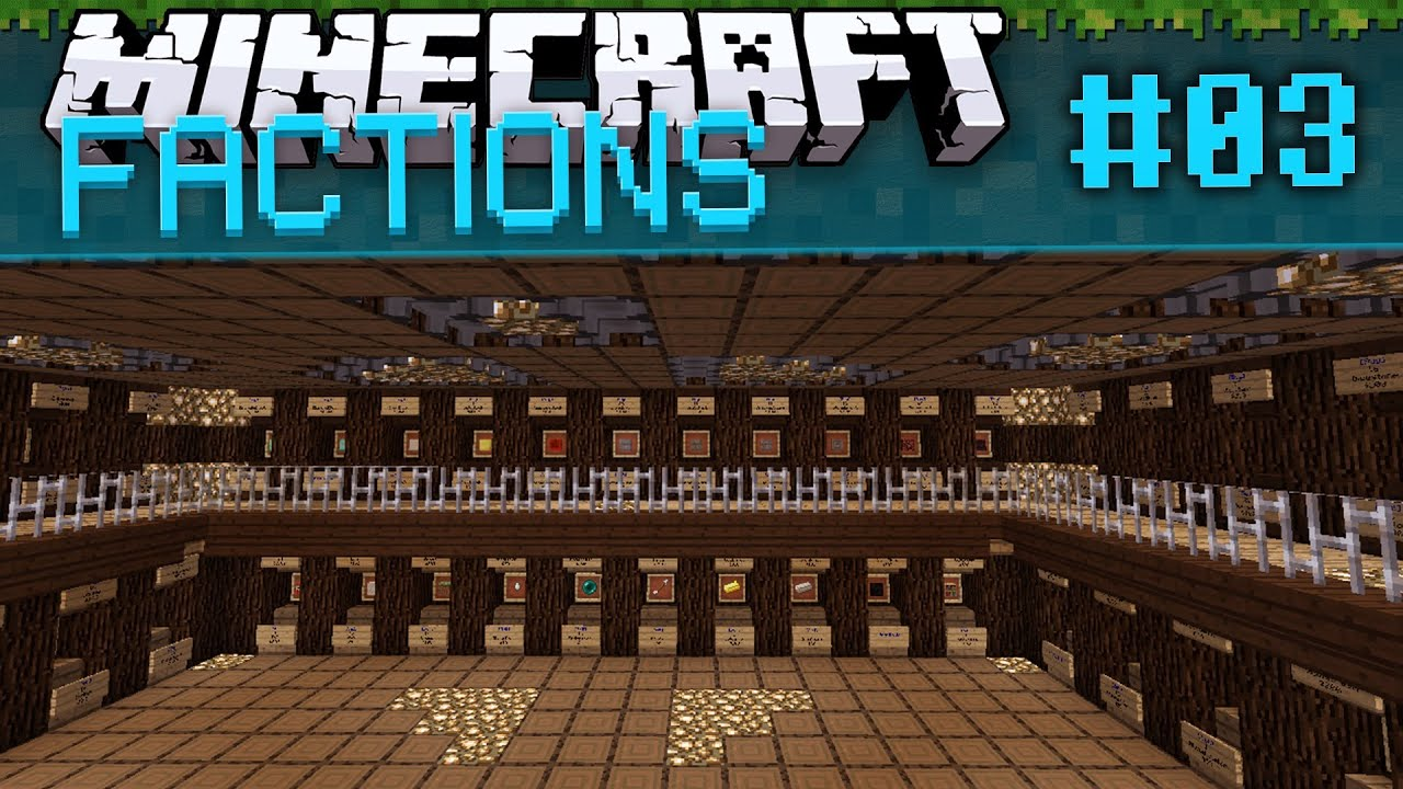 minecraft how to create a faction