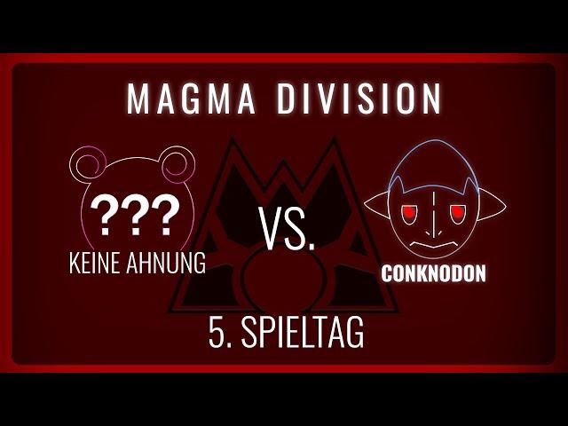 Conknadon vs Keine Ahnung, 5. Spieltag Magma Division   NERDKRAM POKEMON LEAGUE